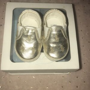 Infant Ralph Lauren Slides
